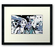 selvie Framed Print