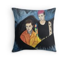 twenty one pilots heathens Throw Pillow