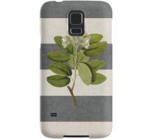 botanical stripes 5 Samsung Galaxy Case/Skin
