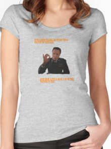 The Watch - Pulp Fiction Women's Fitted Scoop T-Shirt