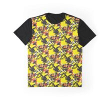 Floral Explosion Graphic T-Shirt