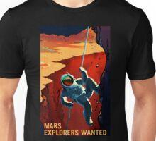 Explorers Wanted - NASA Recruitment Poster Unisex T-Shirt