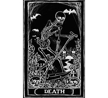 Death Card Photographic Print