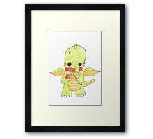 Harry Potter Dragon Framed Print