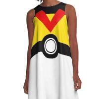 Poké ball GO! LEVEL BALL A-Line Dress