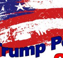 TRUMP PENCE DONALD TRUMP MIKE PENCE PRESIDENT MAKE AMERICA GREAT AGAIN 2016 2 Sticker