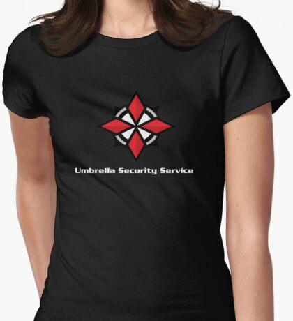 Umbrella USS Womens Fitted T-Shirt