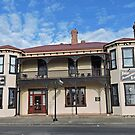Exchange Hotel, Beaconsfield, Tasmania by Margaret  Hyde