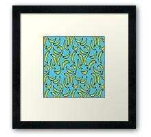 Banana Pattern Framed Print