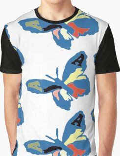 The Avalanches - Wildflower Butterfly Graphic T-Shirt