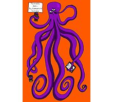 Protest Octopus Photographic Print