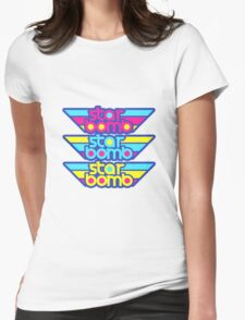 Starbomb Logo Womens Fitted T-Shirt