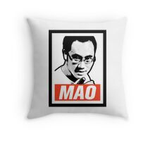 The Mao Point - Evolution 2014 Throw Pillow