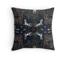 Under the moon  Throw Pillow