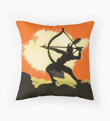 Lotte Reiniger wonderful Silhouette design!~ Throw Pillow