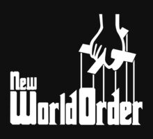 New World Order - The Godfather Parody T Shirt by wordsonashirt
