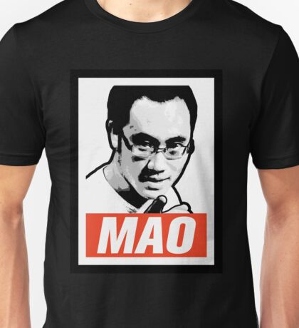The Mao Point - Evolution 2014 Unisex T-Shirt