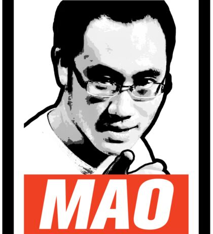 The Mao Point - Evolution 2014 Sticker