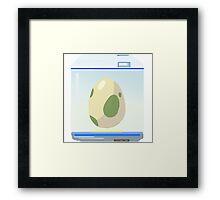 Pokemon Go Incubator (Blue) Framed Print