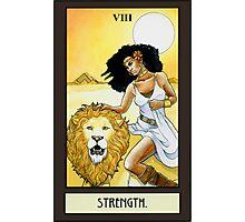 """""""Strength"""" Tarot Card Photographic Print"""