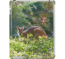 Wallaby In Bushes iPad Case/Skin