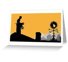 Lotte Reiniger amazing Silhouette design!~ Greeting Card