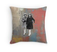 MasqueRaid Throw Pillow