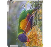 Rosella Hanging From Tree iPad Case/Skin