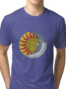 Sun and Moon Tri-blend T-Shirt