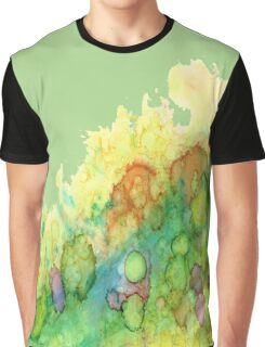 Sea Life - Green Graphic T-Shirt