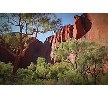 Red Centre Photographic Print