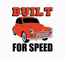 BUILT FOR SPEED-CLASSIC RED Men's Baseball ¾ T-Shirt