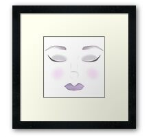 All The Makeup in The World Framed Print