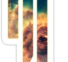 Skrillex in the Space Sticker