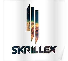 Skrillex in the Space Poster