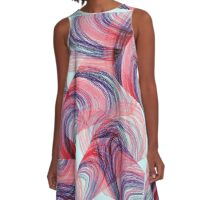 Very Abstract   A-Line Dress