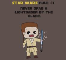 Star Wars Rule #1 (Black Text) by Geekster23