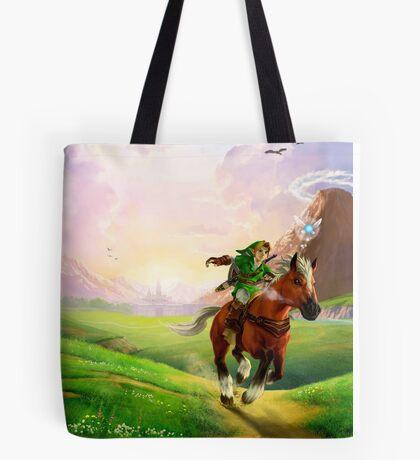 TLOZ Ocarina of Time - Hyrule Field Tote Bag