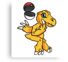Digimon GO Canvas Print