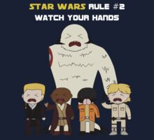 Star Wars Rule #2 (White Text) by Geekster23