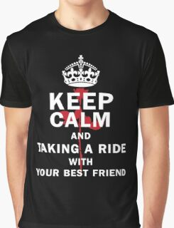 KEEP A RIDE Graphic T-Shirt