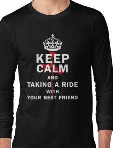 KEEP A RIDE Long Sleeve T-Shirt