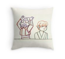 Ezra & Luke Throw Pillow