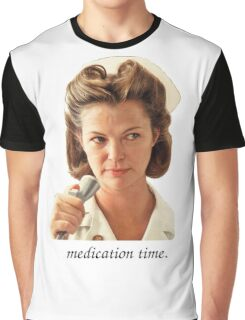 Medication Time Graphic T-Shirt