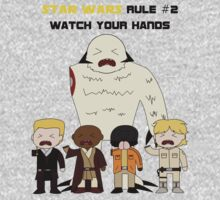 Star Wars Rule #2 (Black Text) by Geekster23
