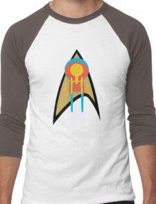 Star Trek - Enterprises & Logo Men's Baseball ¾ T-Shirt