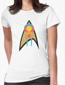Star Trek - Enterprises & Logo Womens Fitted T-Shirt