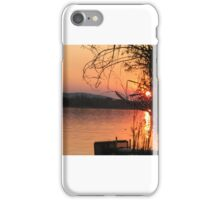 Sunset at Crossing Falls near Kununurra, Western Australia iPhone Case/Skin