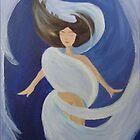 Blue Goddess by ickiskull
