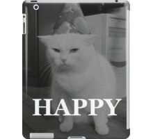 happy birthday MUDAFUCKA! iPad Case/Skin